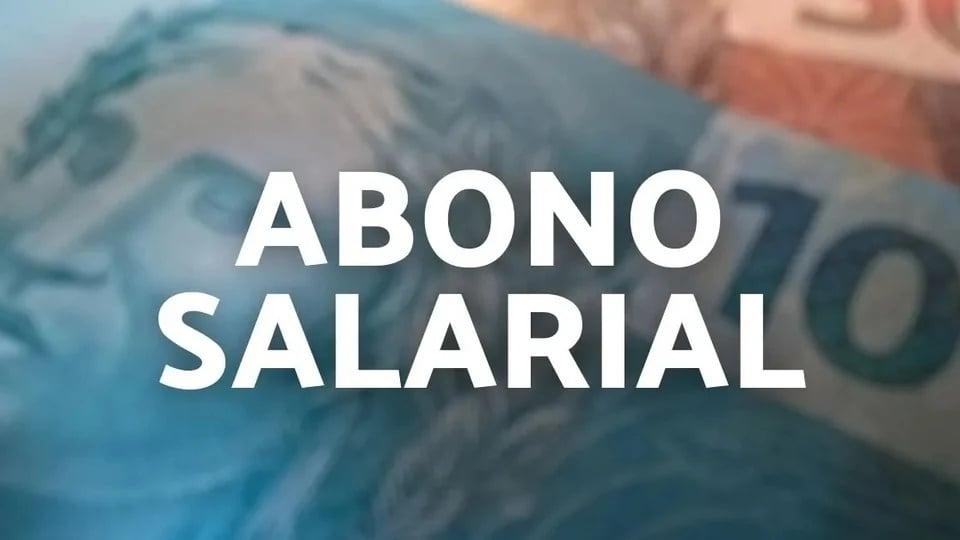 "Pagamento indevido do abono salarial: texto ""abono salarial"" em destaque"