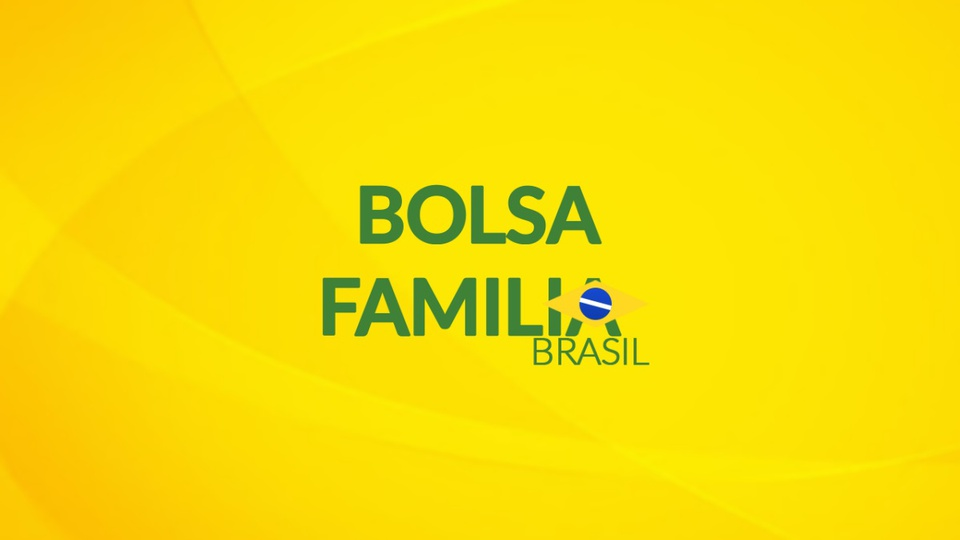 Pagamento do auxílio emergencial 2021 para Bolsa Família: logo do Bolsa Família em fundo amarelado
