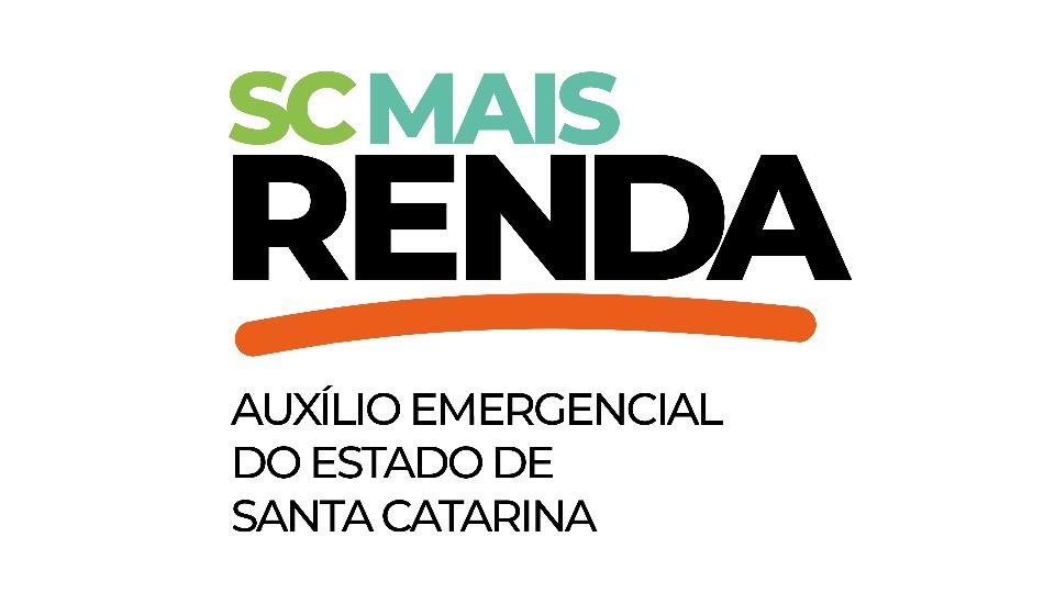 Auxílio emergencial de Santa Catarina: logo do programa SC Mais Renda, de Santa Catarina
