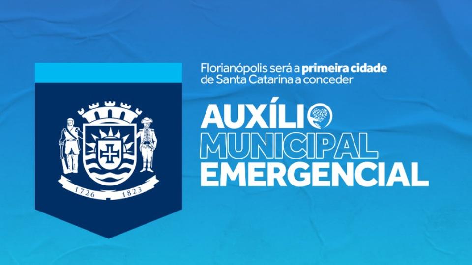 """Auxílio emergencial de Florianópolis: é possível ler """"Florianópolis será a primeira cidade de Santa Catarina a conceder auxílio emergencial municipal"""""""