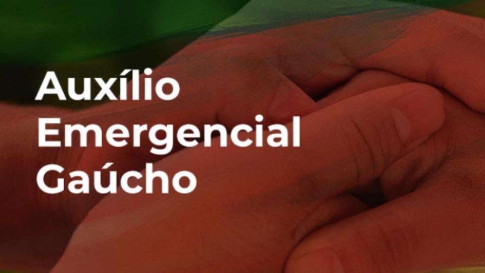 Auxílio emergencial gaúcho: banner do auxílio emergencial gaúcho