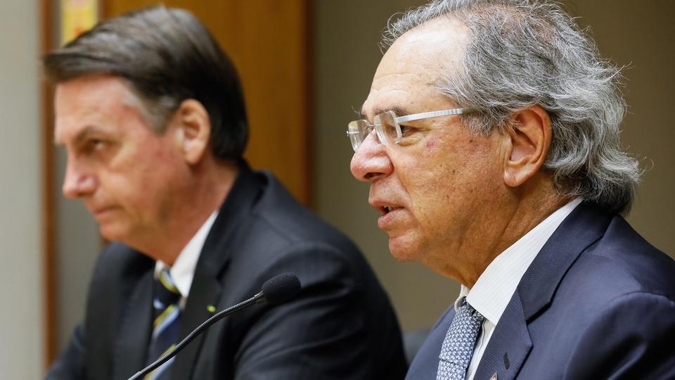 Auxílio emergencial não será prorrogado para 2021, Bolsonaro e Paulo Guedes durante reunião