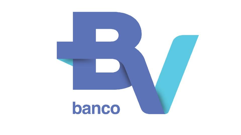 Vagas de estágio no Vanco BV: logo do Banco BV em fundo branco