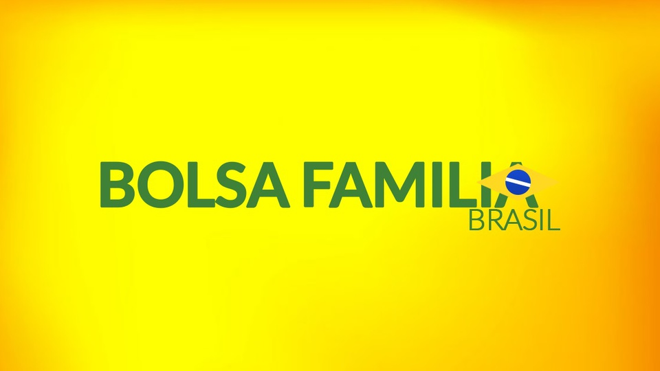 Novos beneficiários no Bolsa Família em 2021: logo do Bolsa Família em fundo amarelado