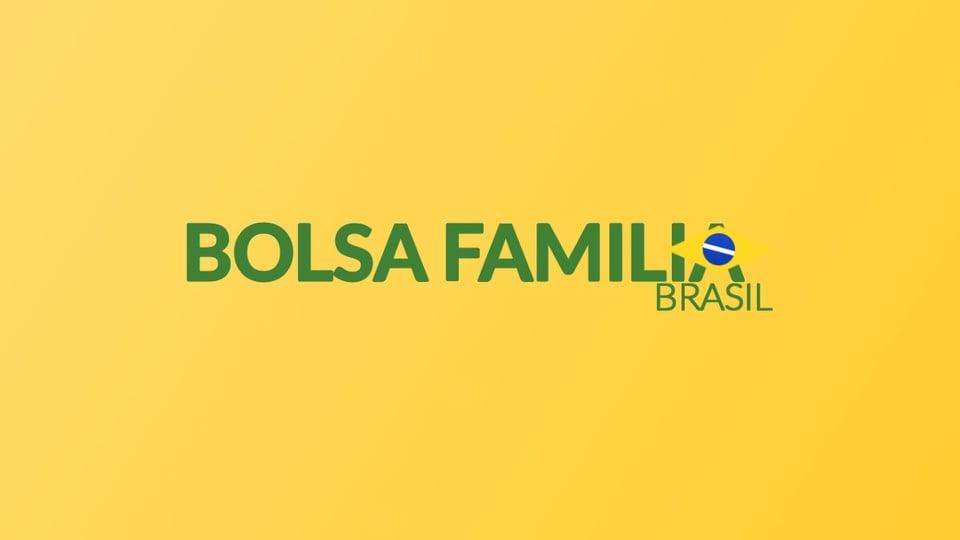 Auxílio emergencial para Bolsa Família com NIS final 6: logo do programa Bolsa Família