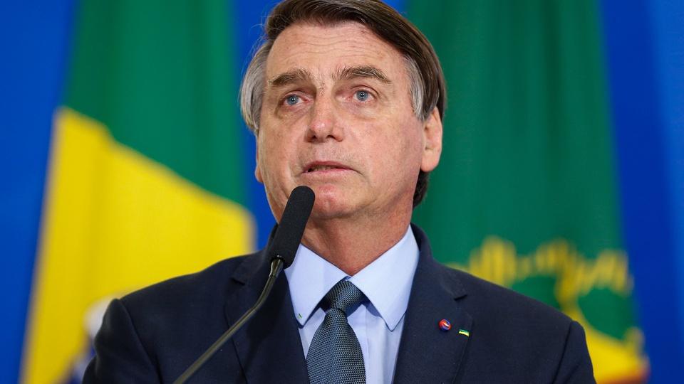 Bolsonaro dá sinal verde para criação de novo programa social, Jair Bolsonaro discursando