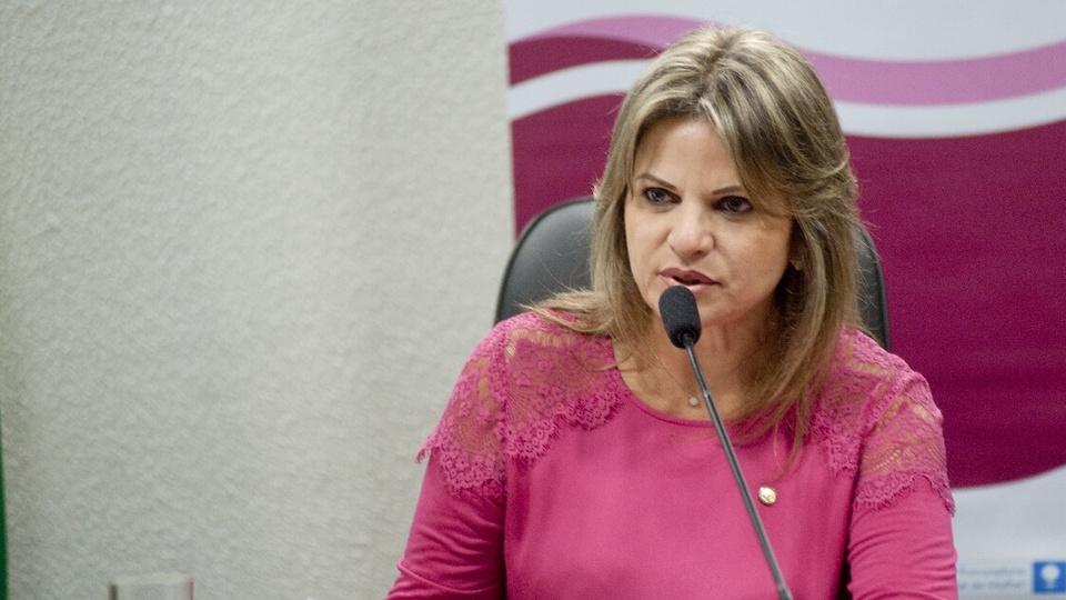 Combate à violência doméstica na pandemia: enquadramento médio da parlamentar Flávia Morais