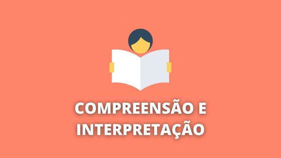 Compreensão e interpretação de textos: tudo o que você precisa saber - a foto em destaque mostra um ícone de uma pessoa lendo