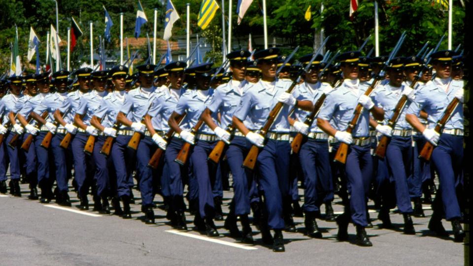 Concurso Aeronáutica CFT; soldados da FAB