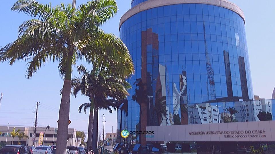 Concurso Assembleia Legislativa do Ceará: foto da fachada da AL CE