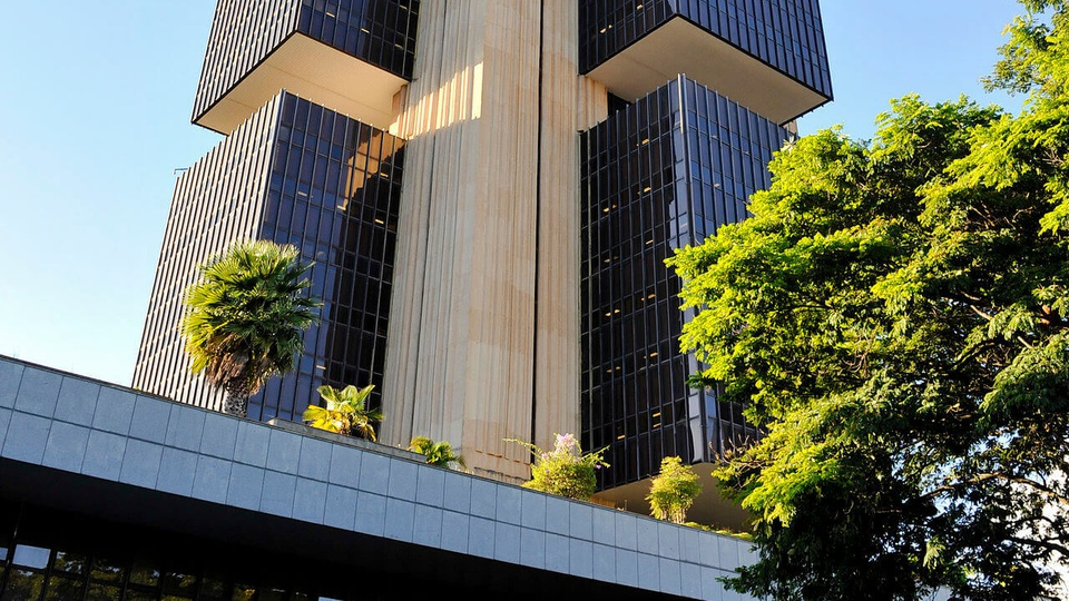 Concurso Bacen: imagem mostra um pedaço do prédio do Banco Central