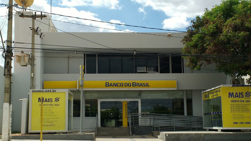 Banco do Brasil: imagem de fachada de agência do Banco do Brasil