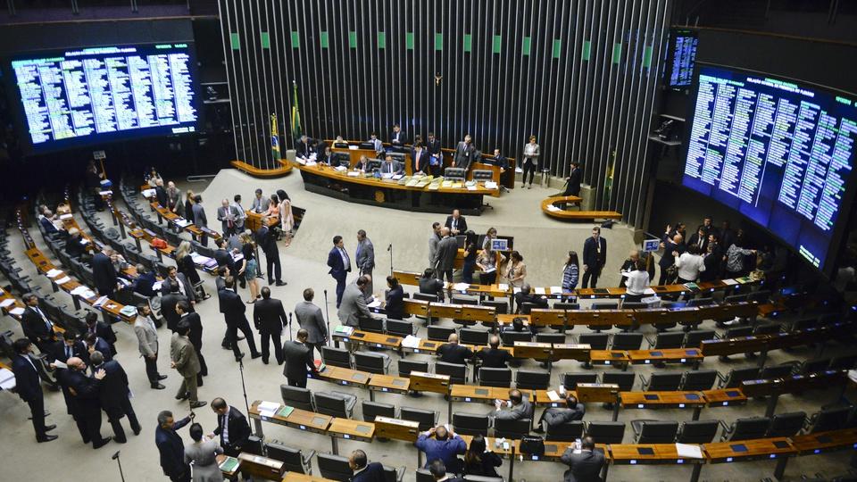 Concurso Câmara dos Deputados - sessão plenária em Brasília