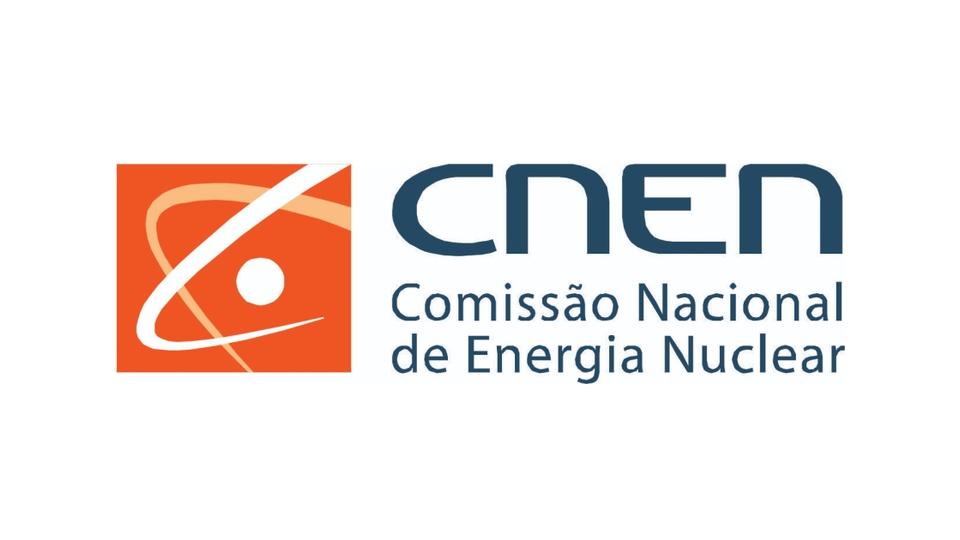 Concurso CNEN: a foto mostra a logomarca da Comissão Nacional de Energia Nuclear (CNEN)