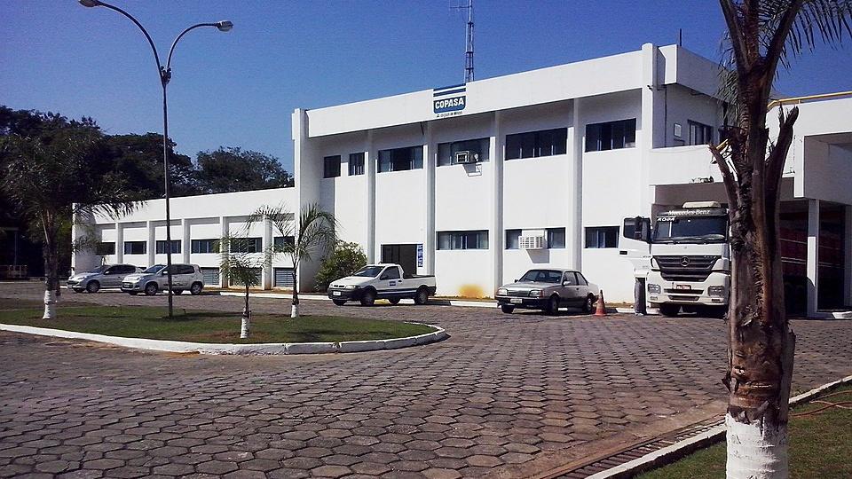 Concurso COPASA MG: sede da estação de tratamento de água da COPASA em Coronel Fabriciano