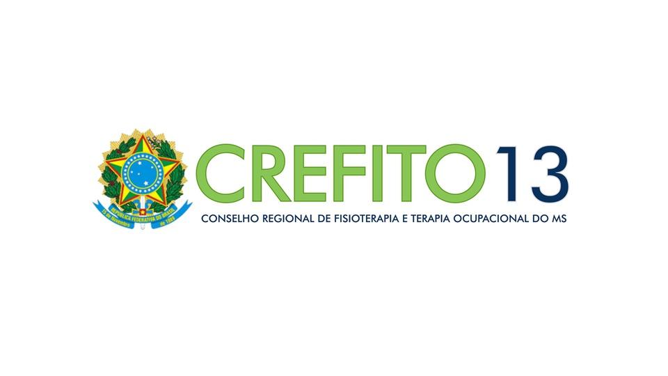 Concurso CREFITO 13 MS: a foto mostra a logomarca oficial do Conselho Regional de Fisioterapia e Terapia Ocupacional da 13ª Região