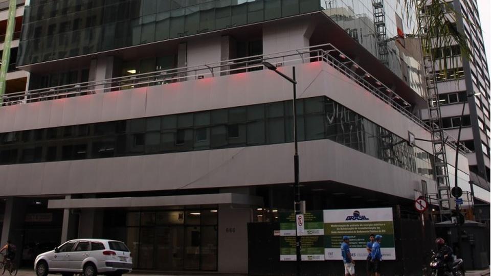 Concurso DPE RS, sede do DPE RS