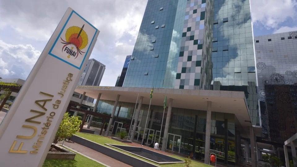 Concurso FUNAI: fachada da sede da FUNAI