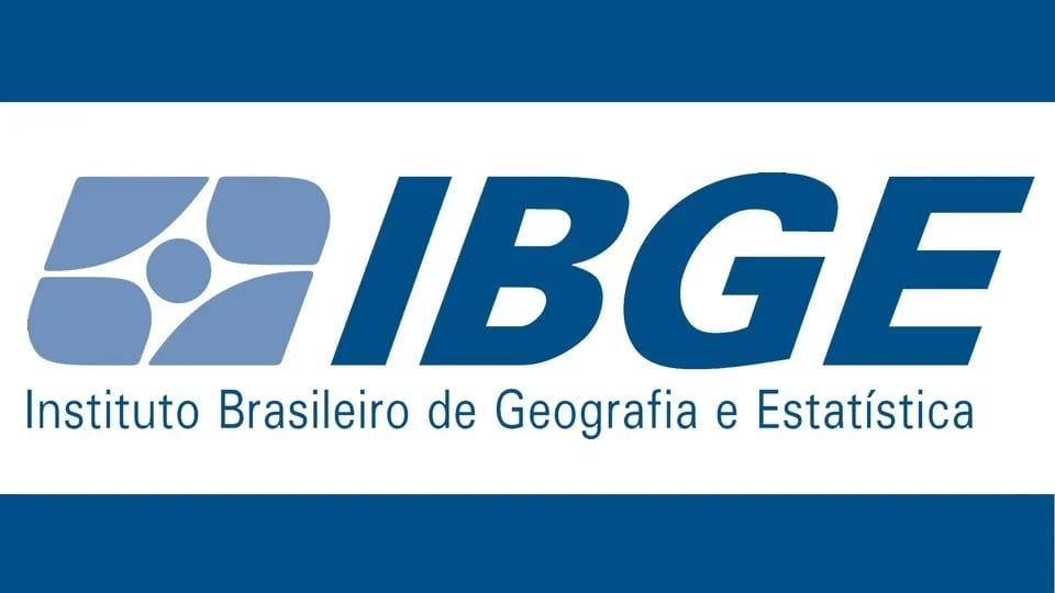 Novo concurso IBGE 2021: logo do IBGE, Instituto Brasileiro de Geografia e Estatística