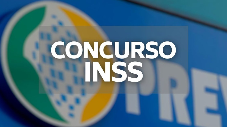 concurso inss a foto mostra a logo da previdência social