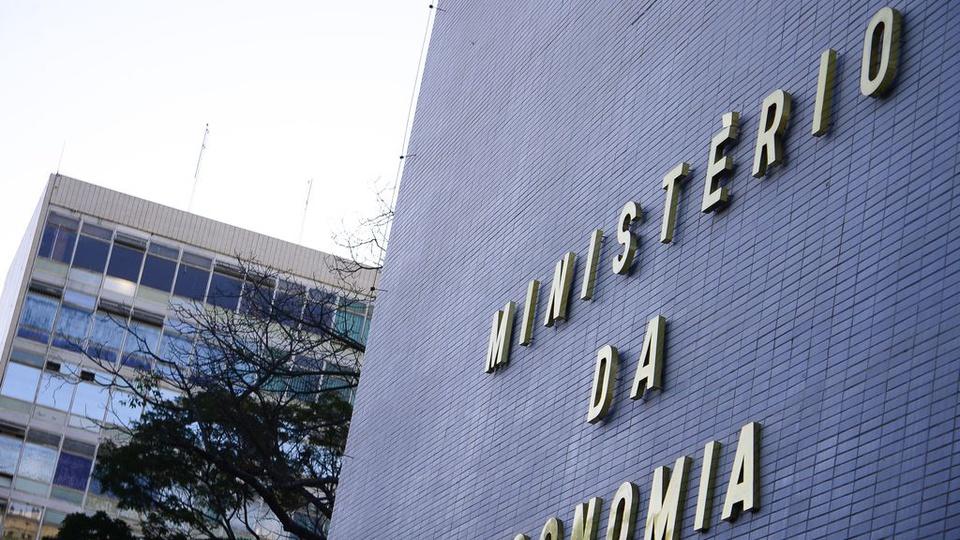 Concurso Ministério da Economia: imagem mostra a fachada do prédio do Ministério da Economia