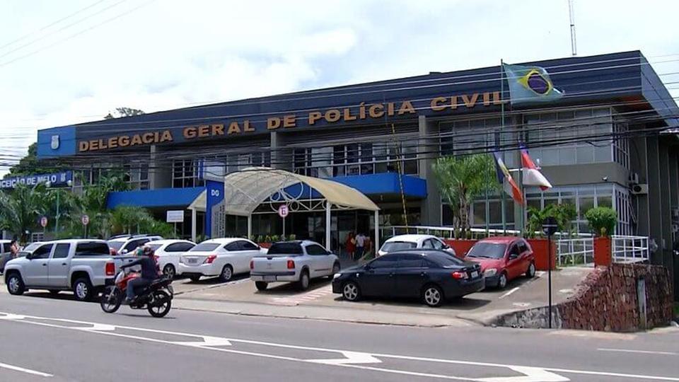 Concurso PC AM: a foto mostra uma delegacia da policia civil do amazonas, em Manaus