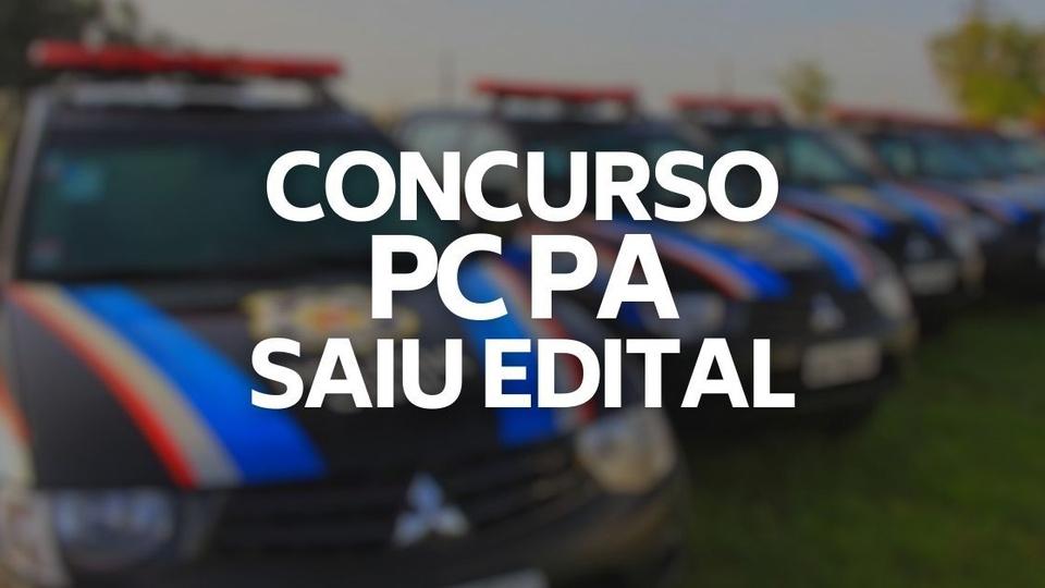 Concurso PC PA: dois policiais caminhando na neblina