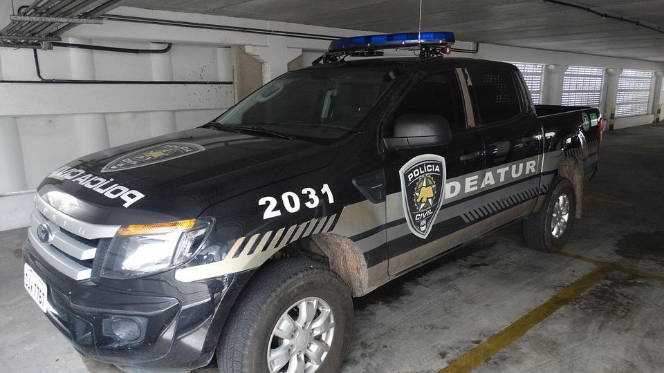Concurso PC RN: viatura da Polícia Civil do Rio Grande do Sul