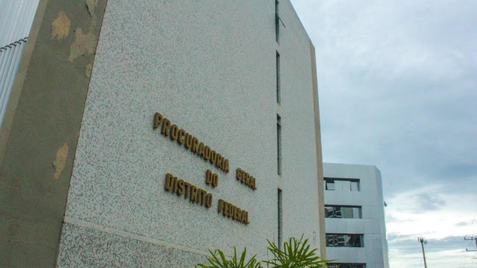 Concurso PGDF: fachada da sede da Procuradoria Geral do Distrito Federal