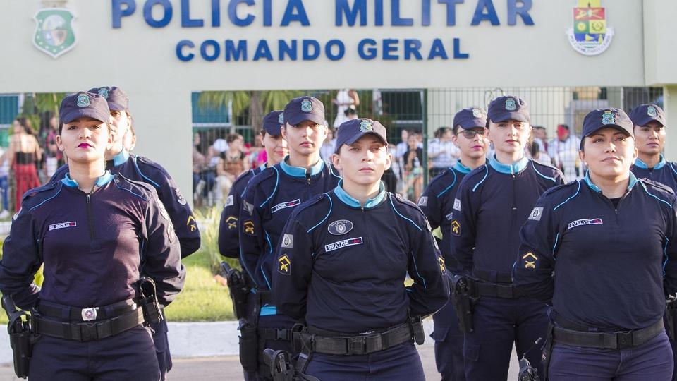 Concurso PM CE para Oficial; policiais militares