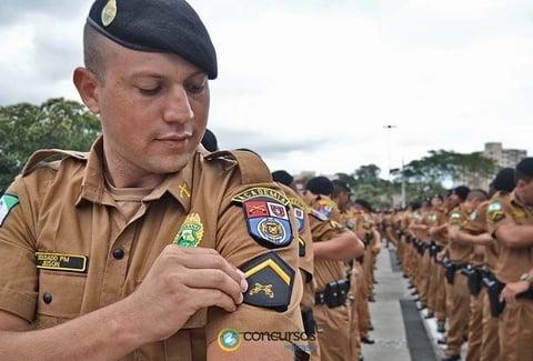 Concurso PM PR - Foto: Divulgação: Polícia Militar do Paraná