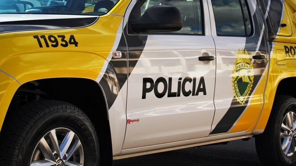 Concurso PM PR: viatura de polícia
