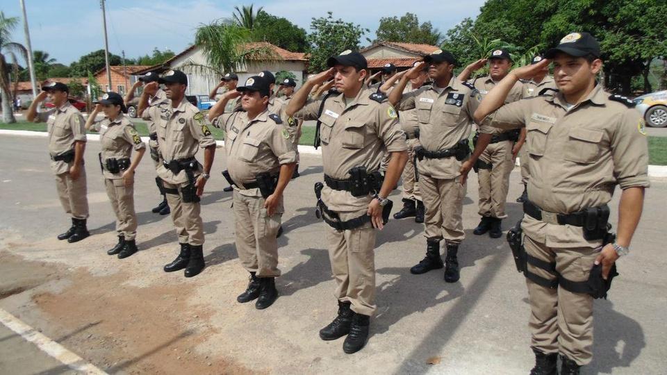 concurso PM TO: soldados fardados