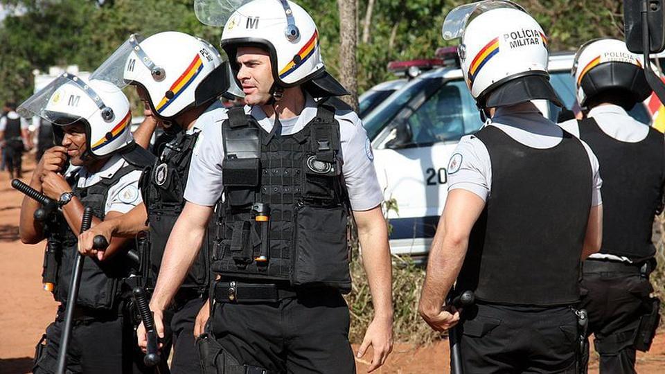 Concurso PM DF: a foto mostra a atuação de policiais militares do distrito federal