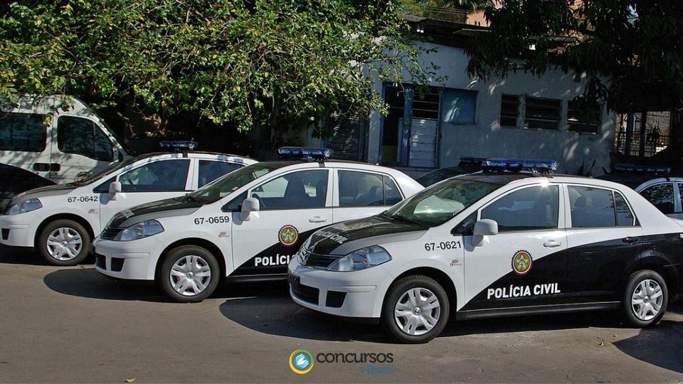 Concurso Polícia Civil RJ 2021: viaturas da polícia civil do rio de janeiro
