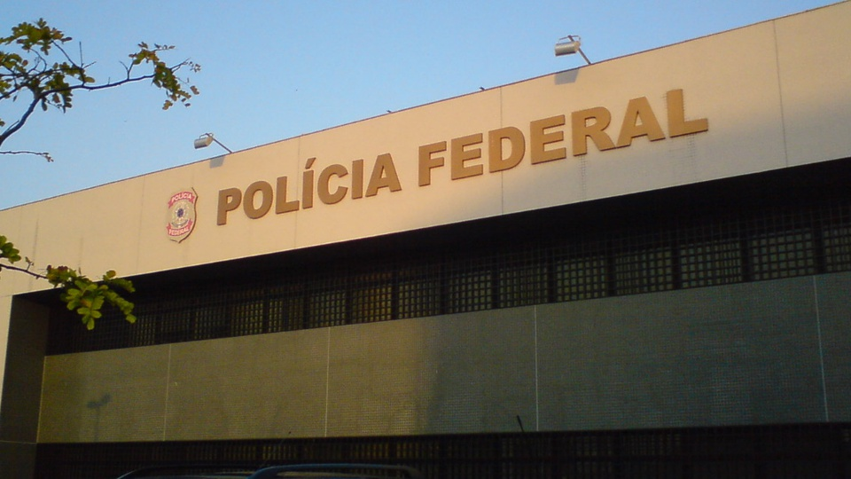 APCF quer vagas para Perito Criminal: letreiro de uma das sedes da Polícia Federal, no estado do Rio Grande do Norte