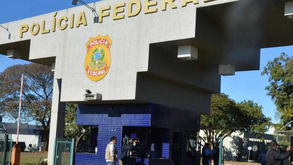 concurso polícia federal: a imagem mostra a fachada de unidade da polícia federal