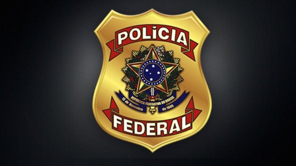 Concurso PF 2021: a imagem mostra o brasão da polícia federal
