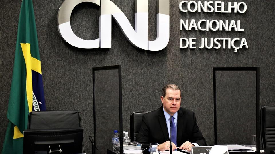 Concurso Polícia Judicial: CNJ aprova criação de nova categoria, Dias Toffoli presidindo o CNJ