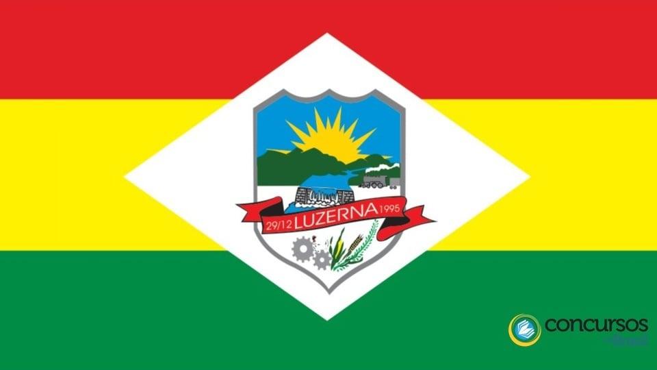 Prefeitura de luzerna: bandeira do município