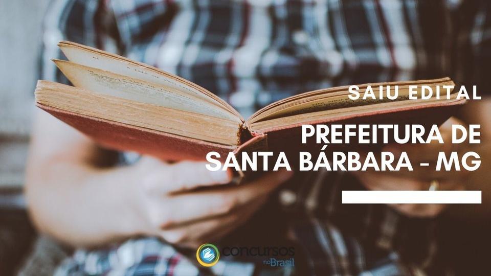 concurso Prefeitura de Santa Bárbara - MG