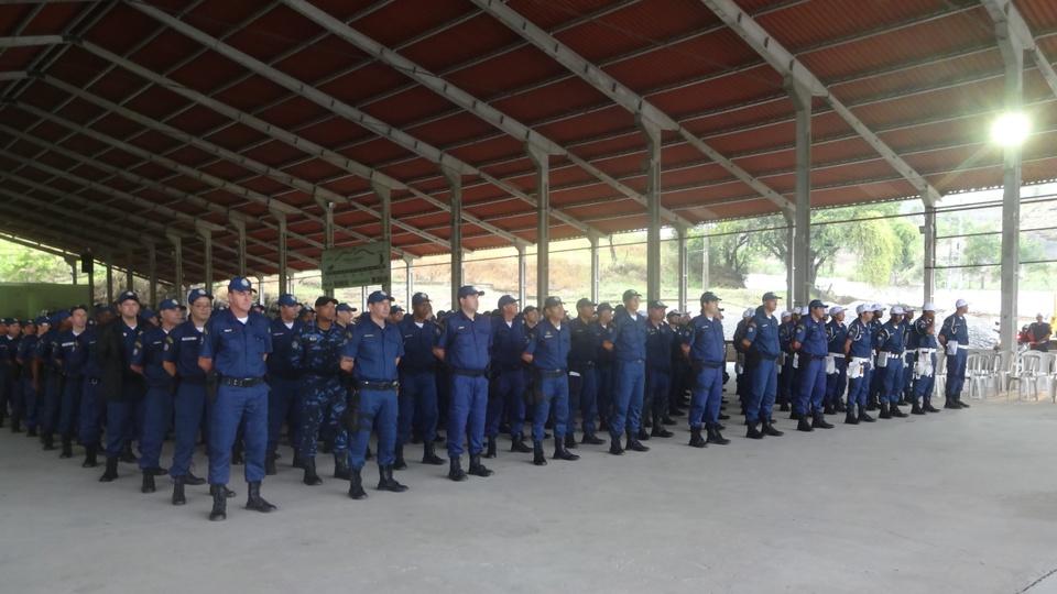 Concurso Prefeitura de São Gonçalo guarda municipal - a foto mostra a guarda municipal de são gonçalo