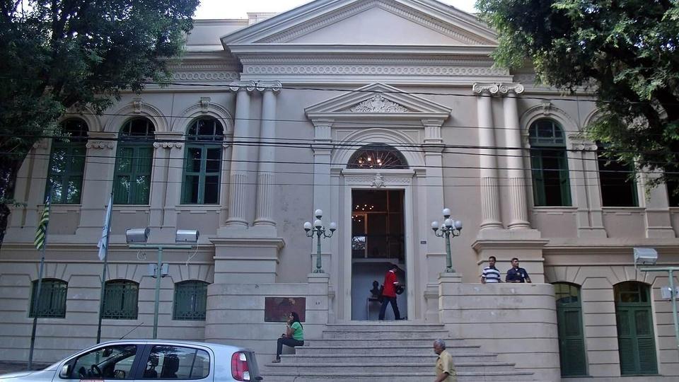 Concurso Prefeitura de Teresina: fachada do Palácio de Teresina
