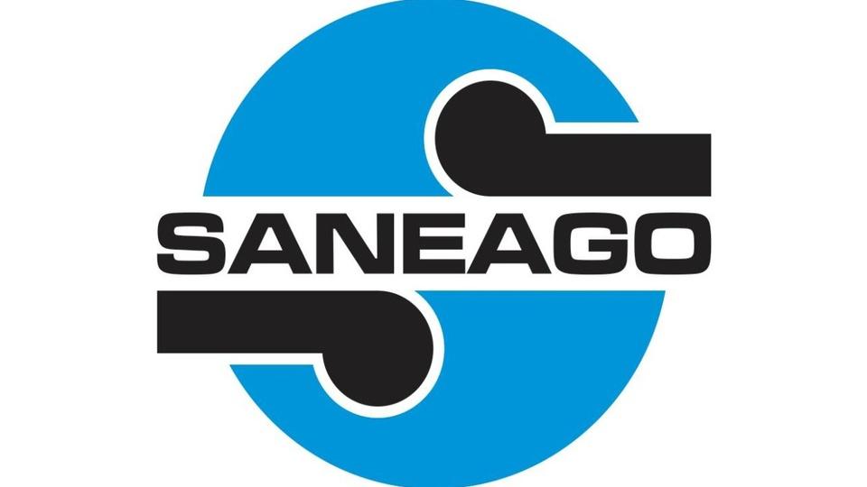 concurso saneago 2020: logomarca da saneago