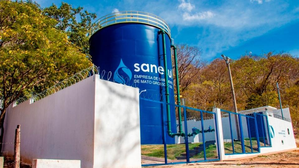 Concurso SANESUL: caixa d'água da SANESUL