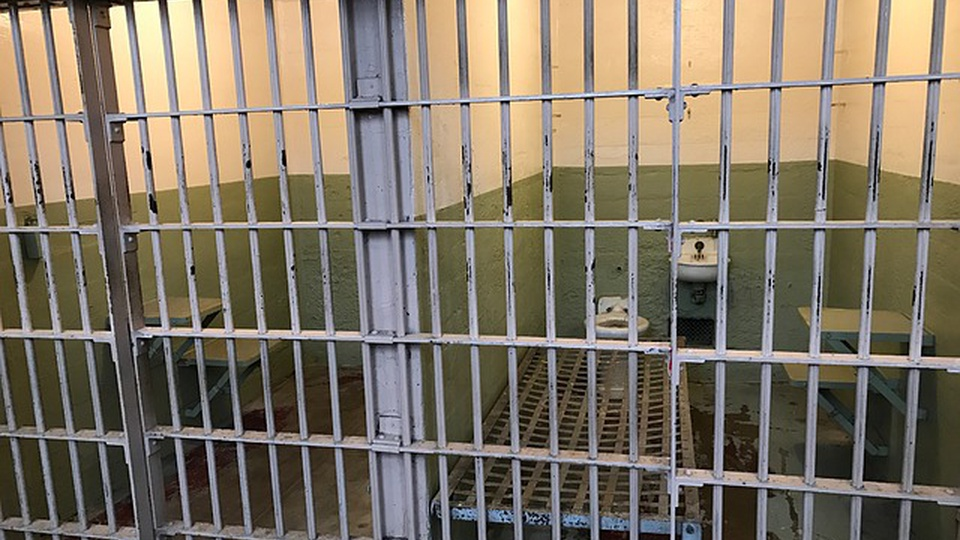 Concurso SAP SP: cela de uma penitenciária