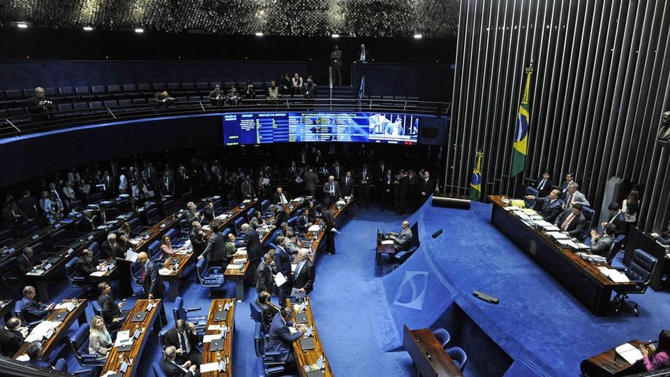 Concurso Senado Federal, sessão do Senado Federal do Brasil