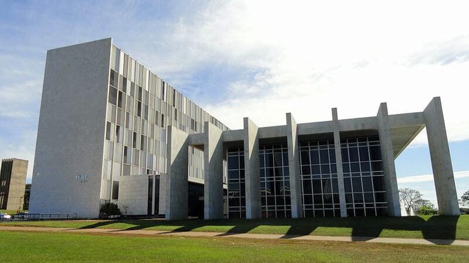 Concurso TC DF: a foto mostra o Tribunal de Contas do Distrito Federal, Brasília, Brasil