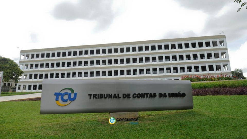 concurso tcu: fachada do tribunal de contas da união