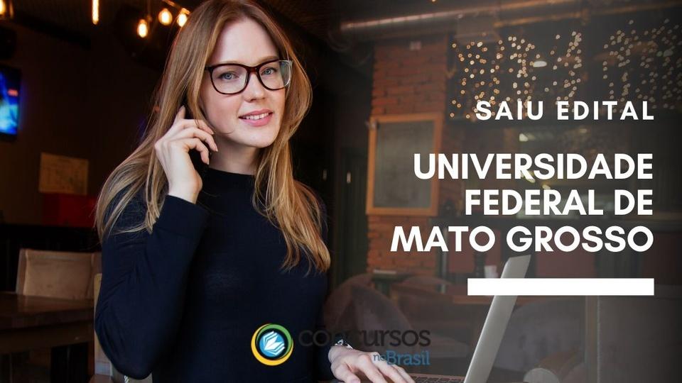 concurso ufmt Universidade Federal de Mato Grosso